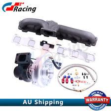 Turbo Manifold + Turbocharger For Nissan Safari Patrol 4.2L TD42 GQ GU Y60  csr