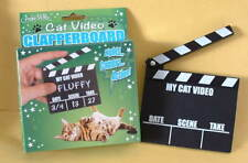 New Cats Kittens Crazy Cat Lady  My Cat Video Movie Clapperboard Clapper Slate