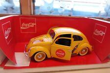 1:18 Solido #9506 Volkswagen Beetle VW Coca-Cola  RARE ITEM COCCINELLE BERLINE