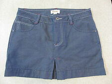 Women's DIESEL Size  28 / 10 AU Denim Mini Skirt Blue ExCon Cotton Nylon Short