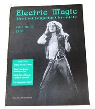 Electric Magic: The Led Zeppelin Chronicle Vol.Ii No Vii ~ February 1992