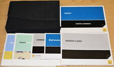 RENAULT KANGOO OWNERS MANUAL HANDBOOK RADIO WALLET + SB 2010-2013 PACK 14664