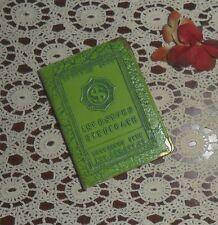 VINTAGE METAL BOOK SHAPED SAVING PIGGY BANK INVESTORS SYNDICATE, N.Y.