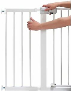Safety 1St GATE EXTENSION WHITE 28CM Baby Child Stair Door Pressure Fit 0m+ BN