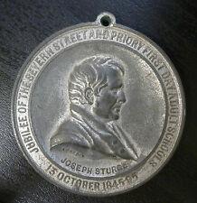 Birmingham, Severn Street Schools 50th Anniversary 1895 White Metal Medallion
