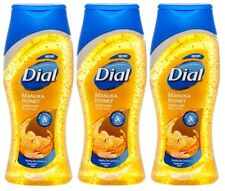 3x Dial MANUKA HONEY Enriched Moisturizing BODY WASH Skin Therapy Complex 12 oz