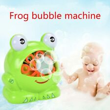 Automatic Bubble Machine Bubble Frog Machine Children Intelligent Development