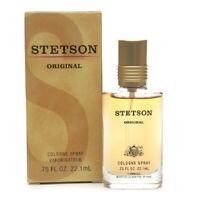 New Men's Stetson Original Cologne Spray 0.75 oz (Retail Box)