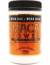 MACA POWDER 500 GM INCA SUPERFOOD CERTIFIED ORGANIC 100% DRY MACA ROOT