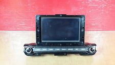 2017-2019 Hyundai Elantra Phone Media Apps Dispay Radio Receiver OEM