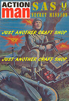 Action Man SAS A3 Size Poster Advert Sign Leaflet Secret MIssion Pod from 1983