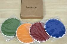 Longaberger Sunny Day Coaster Set -Free Shipping-