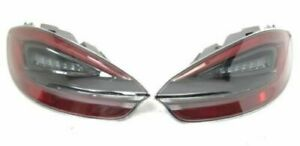 New Genuine Porsche 981 Boxster Cayman Smoked Tinted Rear Light Set 98104490000