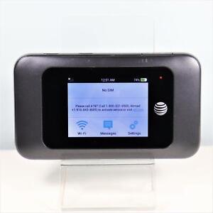ZTE MF985 (AT&T) 4G LTE Hotspot Modem Black -  Fast Shipping
