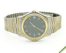 Ebel Classic Wave 18 K 1187141 Men's Watch LIKE NEW Papiere & Box Value System