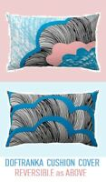 "IKEA Doftranka Cushion Cover CLOUDS 16""x26""Pillow Turquoise Blue Sky Peach Pink"