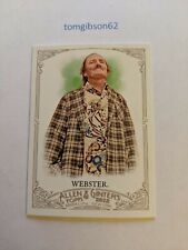 2012 Topps Allen and Ginter Dale Webster #283 Free Shipping