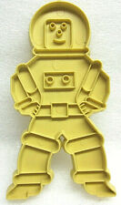 1971 Stanley Home Products Astronaut Space Man Mid Century Plastic Cookie Cutter