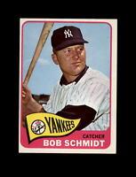 1965 Topps Baseball #582 Bob Schmidt SP (Yankees) EXMT