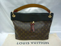 LOUIS VUITTON M43154 Tuilerise Hobo Brown Monogram Tote Shoulder Bag Ex++