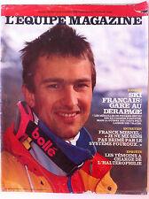 L'Equipe Magazine du 26/11/1988; Dossier Ski/ Entretien Franck Mesnel/ Haltéroph
