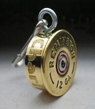 12 gauge Brass Engraved Bullet ID Dog tag Personalized Bullet Dog K9 Tag