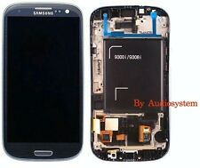 DISPLAY LCD+VETRO ORIGINALE per SAMSUNG GALAXY S3 NEO GT i9301 COVER CORNICE