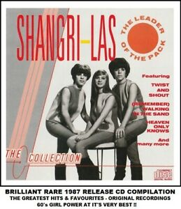 The Shangri-Las - Very Best Essential Greatest Hits Compilation - RARE 60's CD