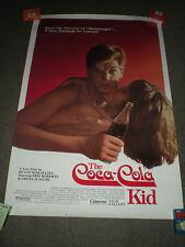 THE COCA-COLA KID - ORIGINAL SS POSTER - 1985 - ERIC ROBERTS/GRETA SCACCHI