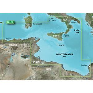Garmin VEU013R - Italy Southwest  and  Tunisia - SD Card model 010-C0771-00