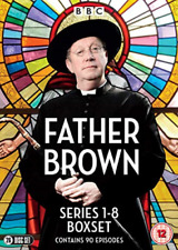 Father Brown Season 1 2 3 4 5 6 7 8 Series The Complete Collection DVD