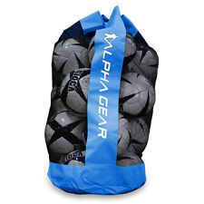 ALPHA Gear Soccer Ball Bag - Holds up to 12 Full Size Soccer Balls - Royal Blue