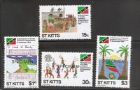 St Kitts SC # 157-160 1St Anniversary Of Independence . Specimen .Set .MNH