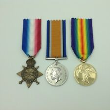 World War I - Medal Trio Set (1914-15 Star, BWM and Victory Medals)