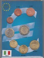 SET EURO € ITALIA ITALY COINS 2010 FIOR DI CONIO CONFEZIONE 8 PEZZI IN BLISTER