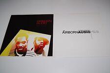 AIRBORN AUDIO Vinyl Lot - GOOD FORTUNE LP Bright Lights Single Record Ninja Tune