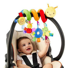 3M+plush Baby Unisex Rattle Toys Mobile Crib Stroller Car Bed Worm Toy Gifts