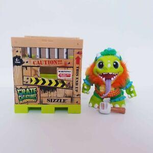Crate Creatures Surprise - Sizzle Kids Pet + Crate Kids Figure Plush Toy