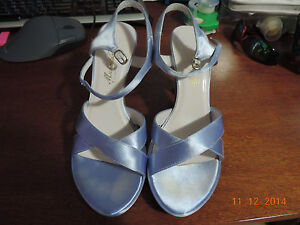 Michaelangelo Lady Shoes Britany Satin Size 8