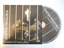 JUSTIN NOZUKA : CRIMINAL / SAVE HIM [ CD SINGLE PORT GRATUIT ]