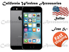 APPLE IPHONE 5S 16G/32G/64G (ATT/H2O/Net10/Cricket )All Color No Contract A-021