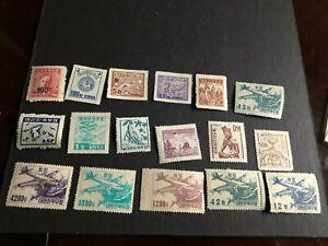 korea stamp mhog collection a1059
