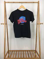 VTG Planet Hollywood Classic Logo Black Short Sleeve T-Shirt Size S USA