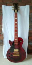 2012 Gibson Les Paul Studio Left LH Wine Red LP USA Electric Guitar with Case