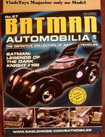 Eaglemoss Magazine Only Batmoblie Legends of Dark Knight Comics #156 issue #27