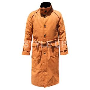 New Blade Runner Rick Deckard Classic Cosplay Cotton Men's Trench Coat-BIG SALE