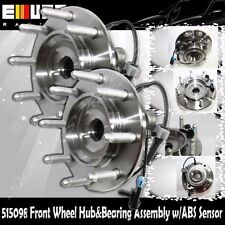 1 Pair Front Wheel Hub&Bearing for GMC Sierra 08-10 2500HD 07-10 3500HD EXC HD