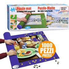 Jumbo Alfombra rompecabezas Roll Up Tienda De Almacenamiento Tubo hasta 2000 piezas + 1000 piezas Puzzle