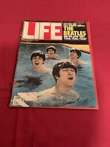 Vintage LIFE Magazine FEBRUARY 1984 THE BEATLES