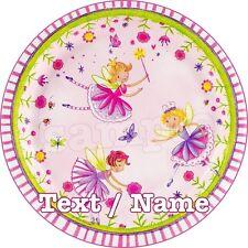 Fee Princesse Decoration Gateau Disque Azyme Comestible Anniversaire